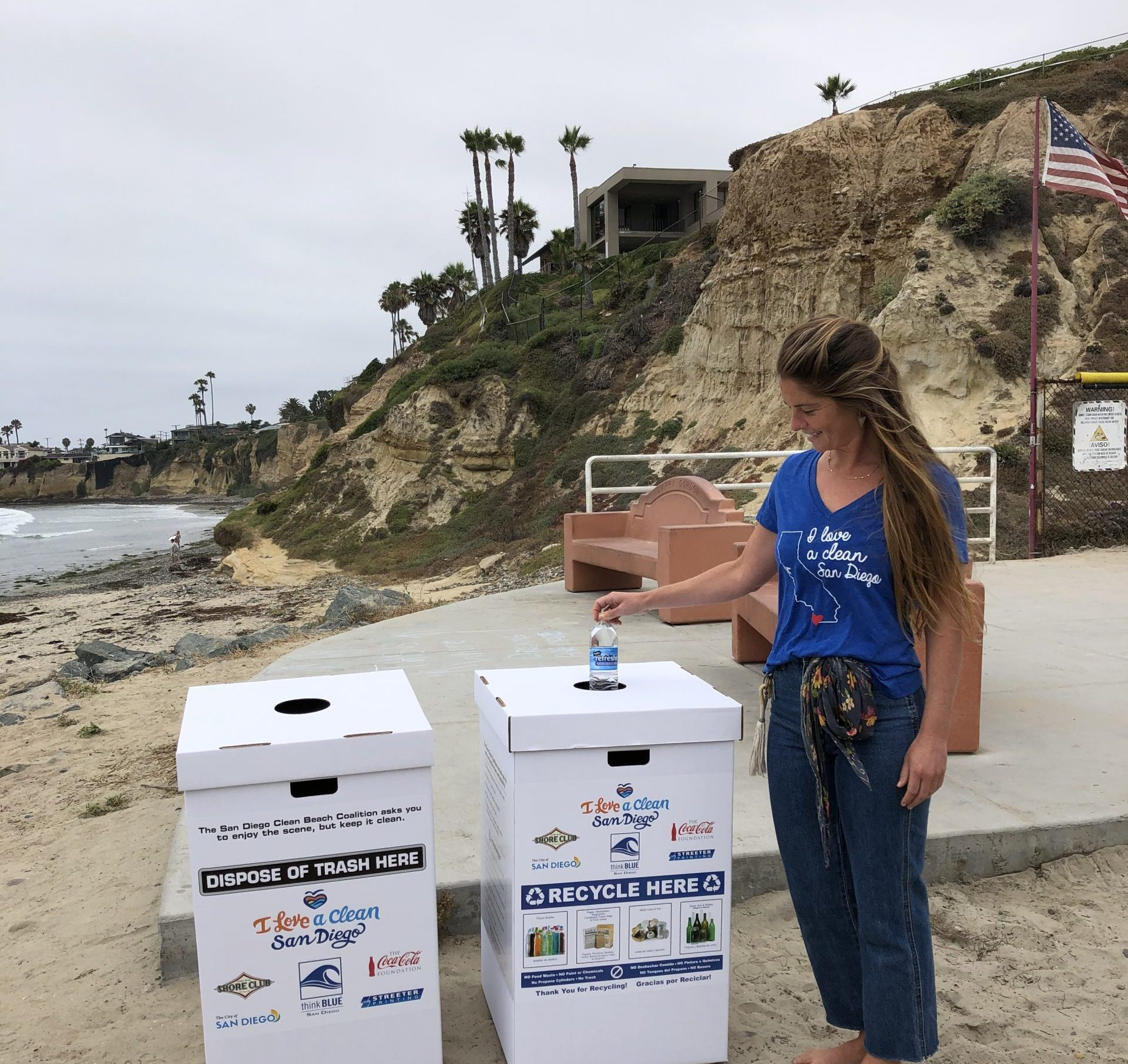 Clean Beach Coalition Bins 2020