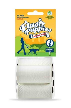 Flush Puppies - alternatives to plastic bags