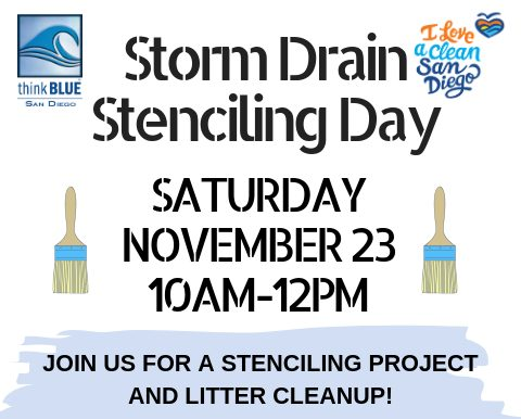 Storm Drain Stenciling Day
